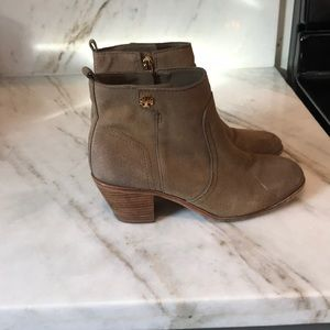 Tory Burch Distressed Booties